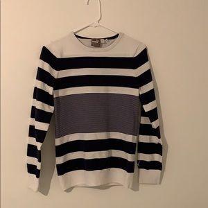 PUMA navy/white striped shirt!